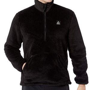 Reebok Plush Fleece Pullover Jacket Sz L